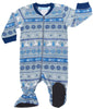 SleepytimePjs Christmas Family Matching Navy Nordic Pajamas Set in Infant