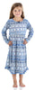 SleepytimePjs Christmas Family Matching Navy Nordic Pajamas Set in Kids - Nightgown