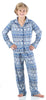 SleepytimePjs Christmas Family Matching Navy Nordic Pajamas Set in Kids