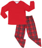 SleepytimePjs Family Matching Red Plaid Pajamas