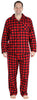 SleepytimePjs Christmas Family Matching Buffalo Plaid Flannel Pajamas for The Family for Men - Lounger
