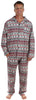 SleepytimePjs Family Matching Christmas Nordic Pajamas for the Family in Men