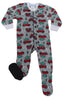 SleepytimePjs Family Matching Holiday Fleece Pajamas for the Family in Infant