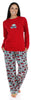 SleepytimePjs Family Matching Holiday Fleece Pajamas for the Family in Women