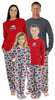 SleepytimePjs Family Matching Holiday Fleece Pajamas for the Family