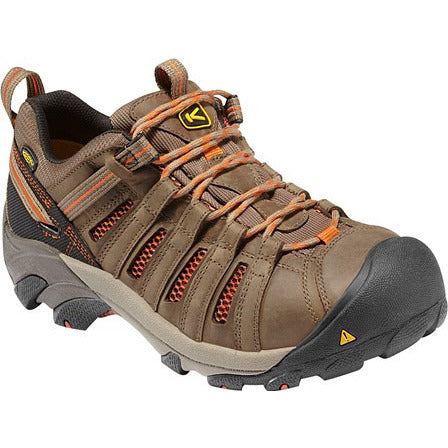 KEEN Utility Mens Safety Toe Athletic Flint Low 1007970  EH - www.Safetytoe.com Safety Toe Boots - safety toe boots  Safetytoe.com - www.safetytoe.com