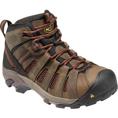 KEEN Utility Mens Flint Mid Safety Toe Boot 1007972 - www.Safetytoe.com Safety Toe Boots - safety toe boots  Safetytoe.com - www.safetytoe.com