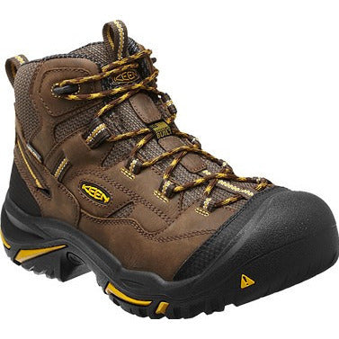 "KEEN Utility Mens 6"" Safety Toe Waterproof Braddock 1011242  EH - www.Safetytoe.com Safety Toe Boots - safety toe boots  Safetytoe.com - www.safetytoe.com"