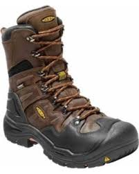 "KEEN Utility Mens Coburg 8"" Waterproof Steel Safety Toe Lace Up  EH 1017833"