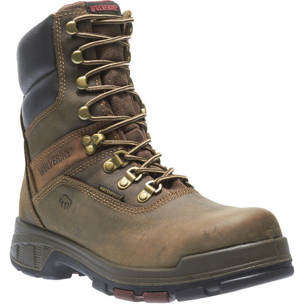 "Wolverine Mens 8"" Safety Toe Cabor Composite Waterproof W10316 - www.Safetytoe.com Composite Toe Work Boot - safety toe boots  Safetytoe.com - www.safetytoe.com"