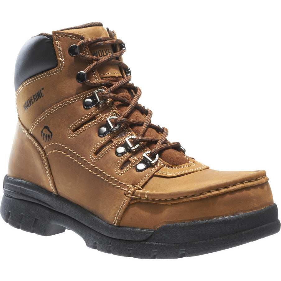 "Wolverine 6"" Safety Toe Work Boot Potomac W4349 - www.Safetytoe.com Safety Toe Boots - safety toe boots  Safetytoe.com - www.safetytoe.com"