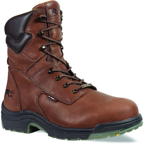 "Timberland Pro Mens 8"" Safety Toe Waterproof Alloy Toe T47019 - www.Safetytoe.com Safety Toe Boots - safety toe boots  Safetytoe.com - www.safetytoe.com"