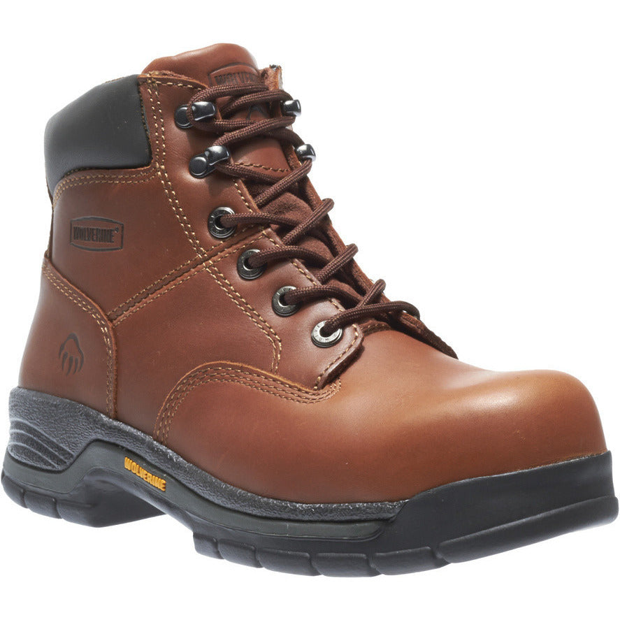 "Wolverine 6"" Harrison Safety Toe Work Boot W4904 - www.Safetytoe.com Safety Toe Boots - safety toe boots  Safetytoe.com - www.safetytoe.com"