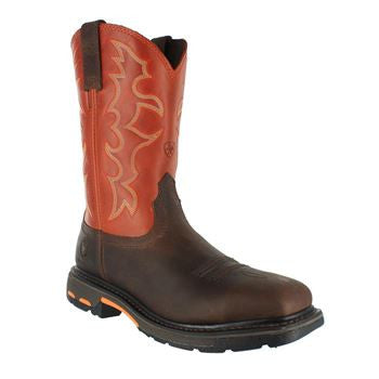 Ariat Boot Mens Wellington Safety Toe Workhog Square Toe AR6961 EH - www.Safetytoe.com Safety Toe Boots - safety toe boots  Safetytoe.com - www.safetytoe.com