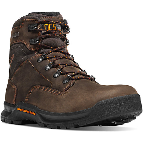 "Danner 6"" Mens Composite Waterproof Safety Toe Boot DA12435 EH - www.Safetytoe.com Composite Toe Work Boot - safety toe boots  Safetytoe.com - www.safetytoe.com"