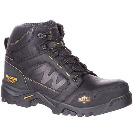 "Georgia Boot 6"" Safety Toe Composite Waterproof Boot w/ Amplitude  GB00130 EH - www.Safetytoe.com Composite Toe Work Boot - safety toe boots  Safetytoe.com - www.safetytoe.com"