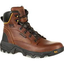 "Men's Georgia FLXpoint 6"" Waterproof Composite Safety Toe Boots EH GB00168"