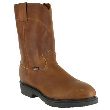 Justin Mens Wellington Safety Toe J4764  EH - www.Safetytoe.com Safety Toe Boots - safety toe boots  Safetytoe.com - www.safetytoe.com