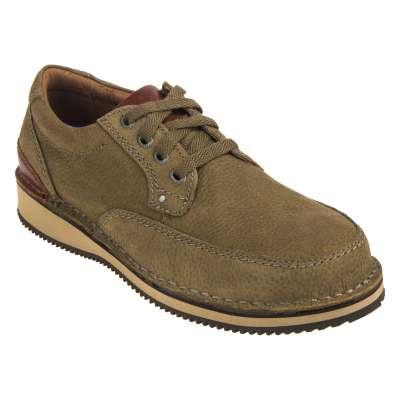 Rockport Men's Tan Prestige Point Steel Toe Lace Up Work Shoes RK2803 EH