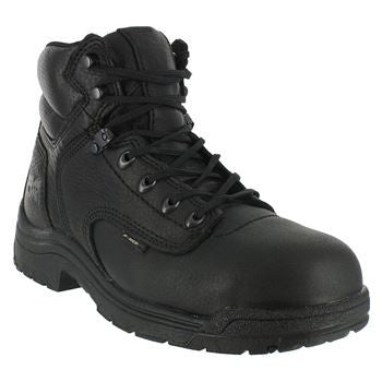 "Timberland Pro 6"" Mens Safety Toe Black Titan T26064  EH - www.Safetytoe.com Safety Toe Boots - safety toe boots  Safetytoe.com - www.safetytoe.com"