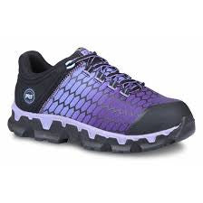 Timberland Pro Womens Powertrain Sport Alloy Athletic Safety Toe TA1H1S - www.Safetytoe.com Composite Toe Tennis Shoe - safety toe boots  Safetytoe.com - www.safetytoe.com