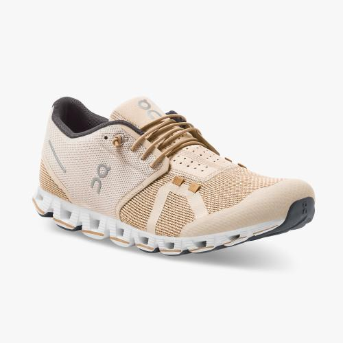 On  Running (Cloud) Mens Cloud Running Shoe Sand | Chai 19.99512 Non Safety