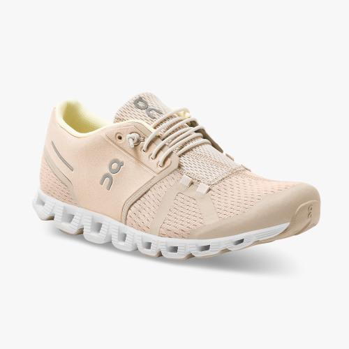 On Running (Cloud) Womens Cloud Running Shoe Sand | Pearl 19.99503 Non Safety
