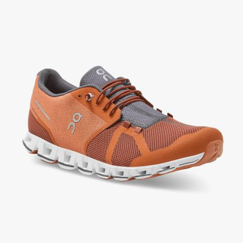 On Running (Cloud) Mens Cloud Running Shoe Russet | Cocoa 19.99696 Non Safety