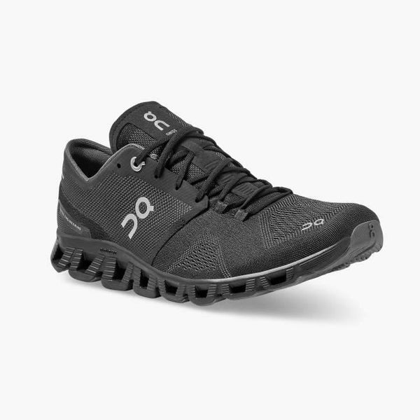 On Running (Cloud) Mens Could X Running Shoe Black | Asphalt 40.99706 Non Safety