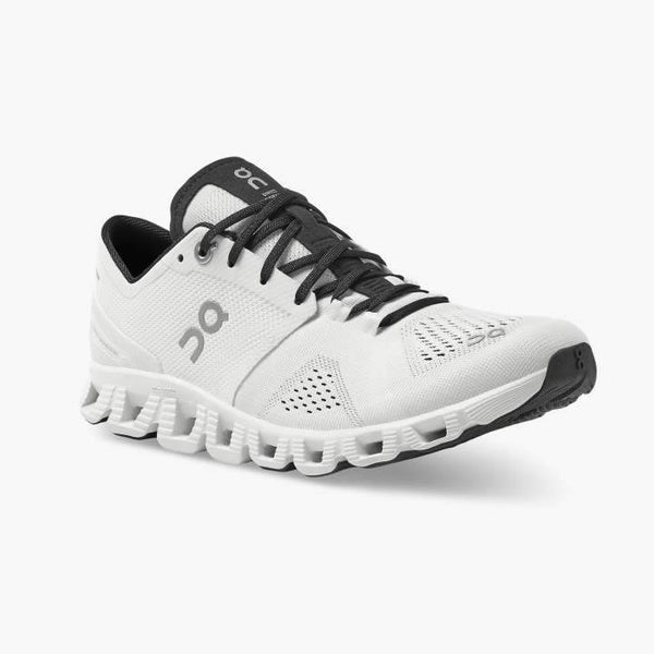 On Running (Cloud) Womens Cloud X Running Shoe Black | White 40.99072 Non Safety