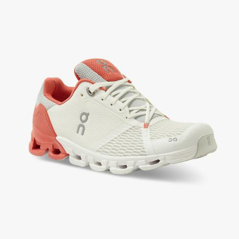 On Running (Cloud) Womens CloudFlyer Running Shoe White | Coral 21.99626 Non Safety