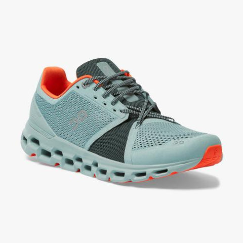 On Running (Cloud) Mens Cloudstratus Running Shoe Cobble | Ivy  29.99773 Non Safety