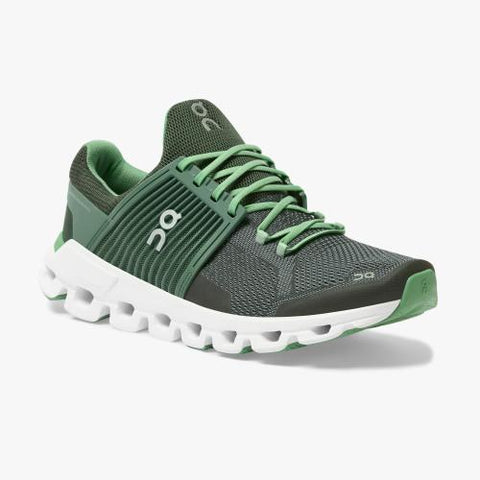 On Running (Cloud) Mens CloudSwift Running Shoe Ivy | Jungle 31.99776 Non Safety