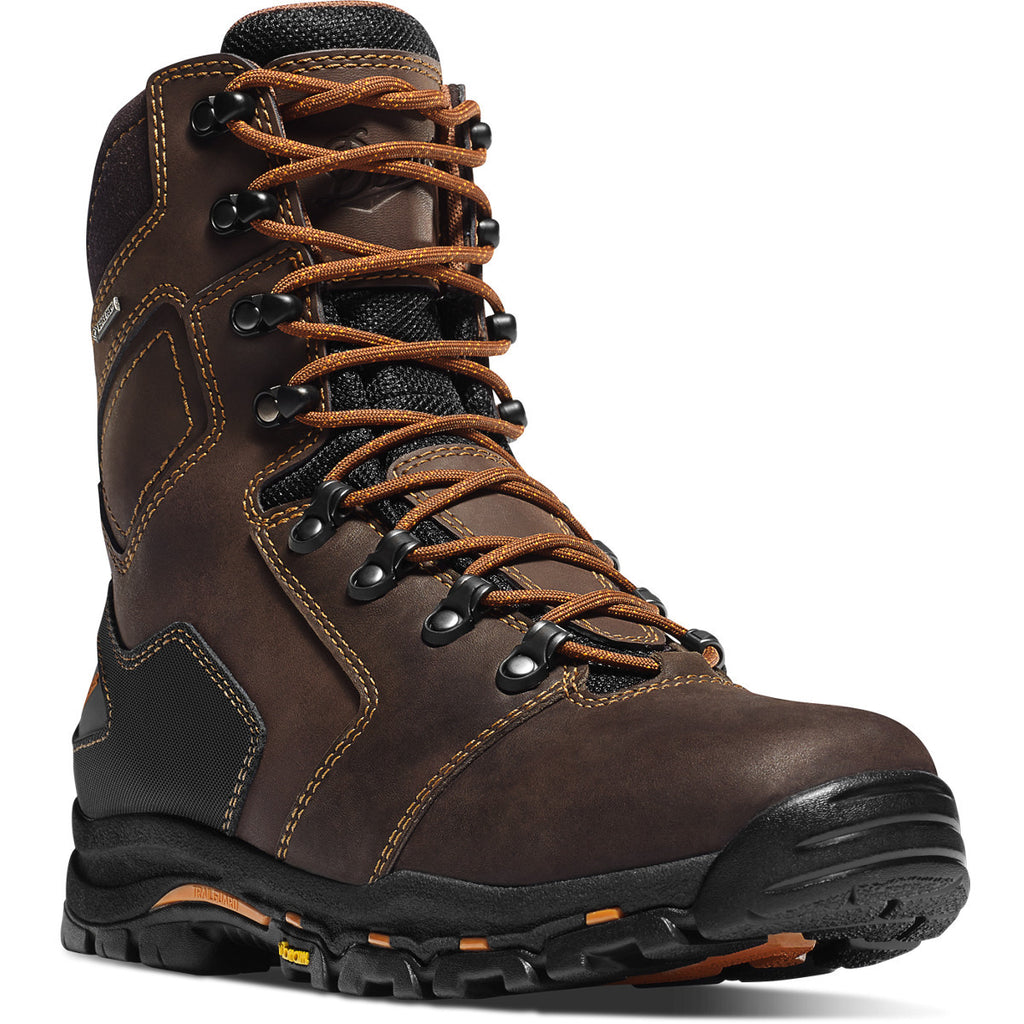 "Danner Mens 8"" Composite Waterproof Safety Toe DA13868 EH - www.Safetytoe.com Composite Toe Work Boot - safety toe boots  Safetytoe.com - www.safetytoe.com"