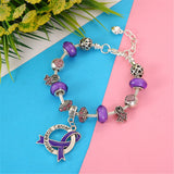 Pancreatic Cancer Awareness Luxury Charm Bracelet
