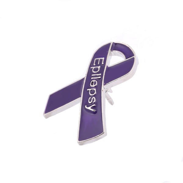 5 Pack Epilepsy Awareness Pins