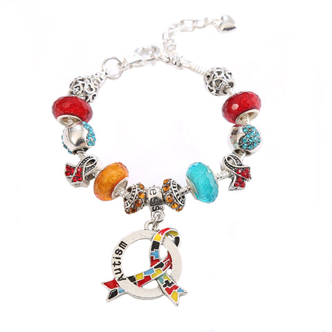 Autism Awareness Luxury Charm Bracelet