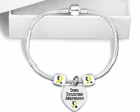 Down Syndrome Snake Chain Bracelet