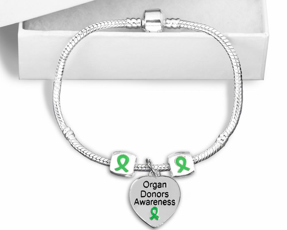 Organ Donors Snake Chain Bracelet