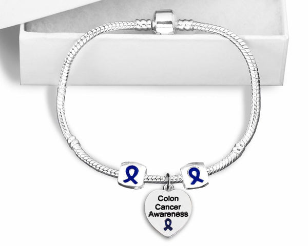 Colon Cancer Snake Chain Bracelet
