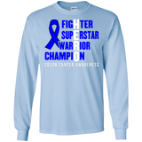 HERO! Colon Cancer Awareness Long Sleeve T-Shirt