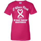 I Wear Pink For Breast Cancer Awareness T-Shirt
