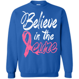 Believe in the cure - Breast Cancer Awareness Long Sleeves
