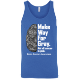 Make way for Gray... Brain Cancer Awareness Tank