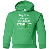 Born to Stand Out! Cerebral Palsy Awareness KIDS Hoodie