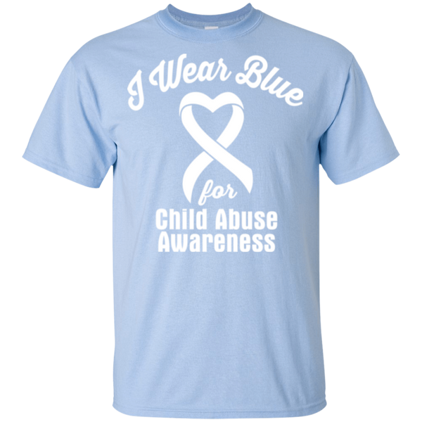 I Wear Blue! Child Abuse Awareness KIDS t-shirt