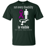Not every disability is visible! Epilepsy Awareness KIDS t-shirt