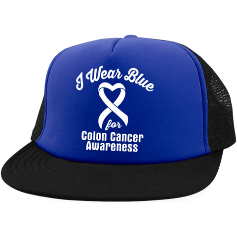 I Wear Blue For Colon Cancer... Snapback