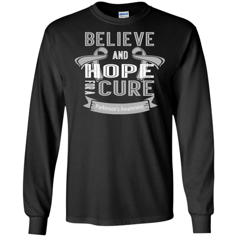 Believe & Hope For A Cure... Long Sleeve T-Shirt & Crewneck