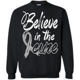 Believe in the cure! Brain Cancer Awareness Long Sleeve Collection